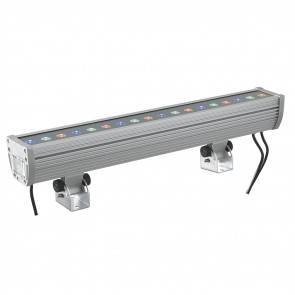 LED-WALLWASHER-18 Proiettore Cromo...