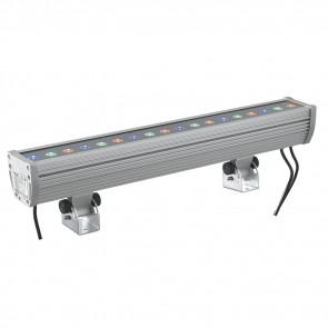Projecteur LED Kelvin 36 watts chromé
