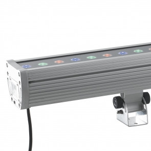 LED-WALLWASHER-36 Proiettore Cromo...