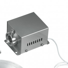 FIBRAOTTICA-LED-RGB - Kit fibre optique avec télécommande de contrôleur LED RGB 9 watts