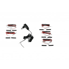 LED-TAYLOR-KIT NERO - Kit dodici led...