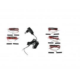 LED-TAYLOR-KIT BLACK - Kit de douze leds
