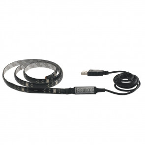 Bande LED RVB rigide avec contrôle numérique avec USB