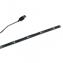 Bande LED RVB rigide avec contrôle