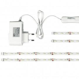 Kit de quatre bandes LED avec