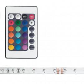 Strisica led RGB di 5 m con kit e