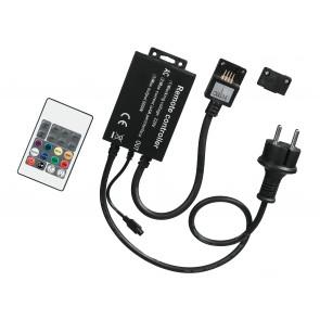 Adattatore con telecomando per striscia led RGB