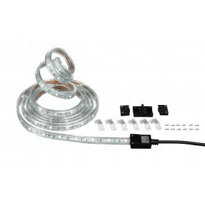 Bande LED de 300 cm avec six supports...