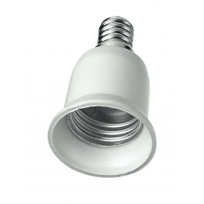 AdattatoreE14-E27Riduttore per lampade da E14 a E27