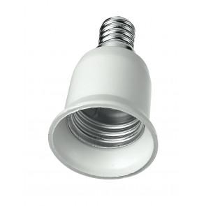 Adattatore - E14-E27 - Riduttore per lampade da E14 a E27
