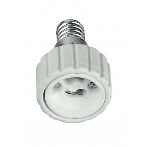 Adaptateur - E14-GU10 - Réducteur pour lampes de E14 à GU10