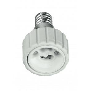 Adattatore - E14-GU10 - Riduttore per lampade da E14 a GU10