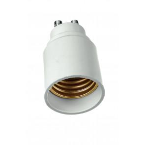 Adaptateur - GU10-E27 - Réducteur pour lampes de GU10 à E27