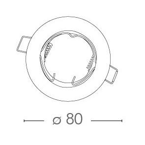 INC-REFLEX-SF1 BCO - Embout pour spot...
