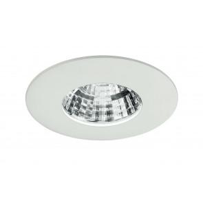 INC-NADIR-R6F - Faretto Incasso Alluminio Pressofuso Quadrato Bianco Goffrato Led 6 watt Luce Fredda