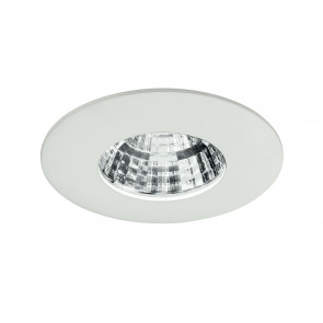 INC-NADIR-R6F - Spot encastré en aluminium moulé sous pression carré blanc gaufré à lumière froide de 6 watts