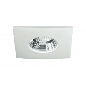 INC-NADIR-Q6F - Spot carré encastré en aluminium blanc faux plafond 6 watts à lumière froide