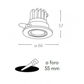 INC-POLARIS-R3 - Downlight orientable...