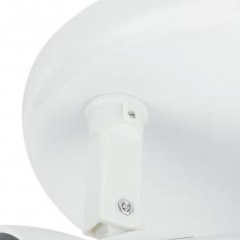 SPOT-CARRERA-PL3 - Plafonnier rond blanc à trois lumières 42 watts E27