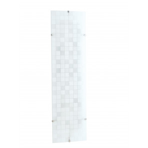 I-KAPPA/L FLASH - Plafoniera Rettangolare Vetro decoro Mosaico Lampada Moderna E27