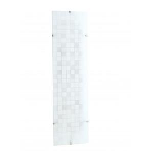 I-KAPPA-LD / L FLASH - Plafonnier avec décoration en mosaïque rectangulaire en verre moderne à lumière naturelle de 42 watts