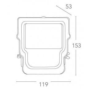 LED-MAXWELL/20W - Proiettore per...