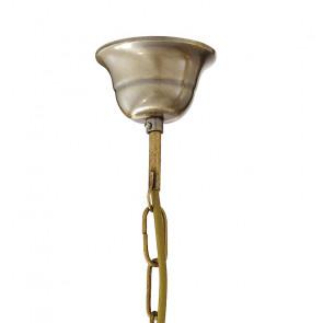 Sospensione Catena Metallo Brunito E27