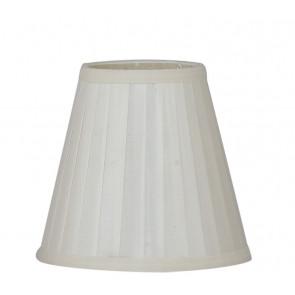 I-PRLM-ORTENSIA - Abat-jour Ortensia Tissu Blanc 14x31 cm