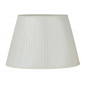 I-PRLMG-ORTENSIA - Abat-jour Ortensia Blanc Tissu 43x28 cm