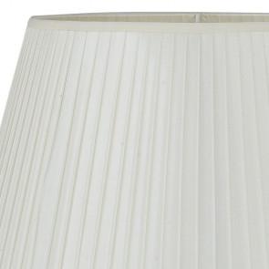 Paralume Tessuto Bianco 43x28 cm