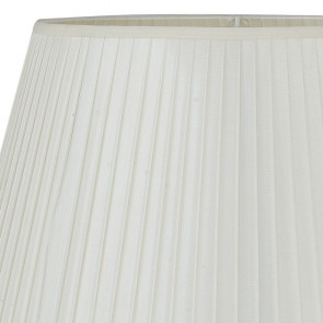 Abat-jour Tissu Blanc 43x28 cm