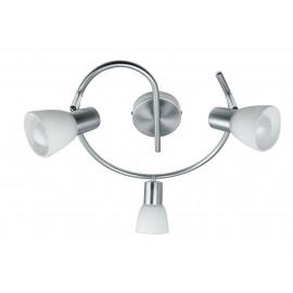 SPOT-MITO-S3 - Plafonnier à trois lumières avec une forme originale E14 de 40 watts