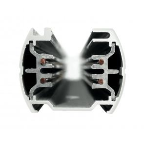 LED-TRACK-3M NERO - Binario nero per faretto led di 3 m