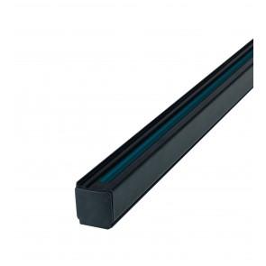 Binario nero per faretto led di 2 m
