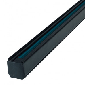 LED-TRACK-2M NERO - Binario nero per faretto led di 2 m