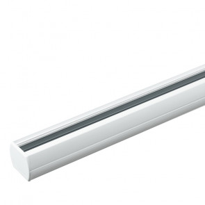 LED-TRACK-2M - Binario bianco per faretto led di 2 m