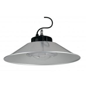 LED-FUTURA-100W - Lustre avec crochet et lumière LED transparente
