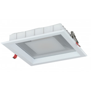 INC-MARK-10C - Spot encastré LED carré blanc 10 watts 3200 Kelvin