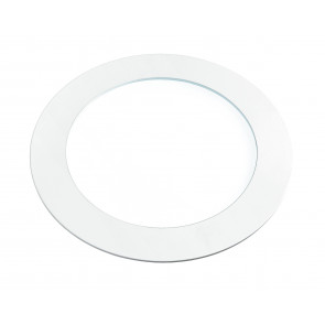INC-SLIM / 18W BCO - Spot encastré rond en plaque de plâtre en aluminium blanc à lumière naturelle de 18 watts