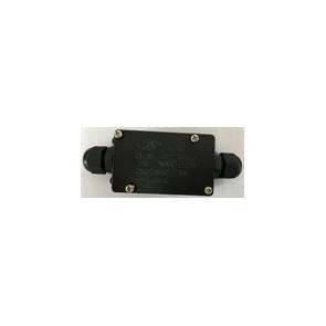 CONNECTBOX-IP68-2 - Scatola Connessione Due Poli Nera Tenuta Stagna