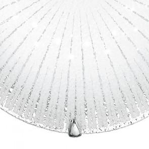 Plafonnier LED blanc avec décoration...