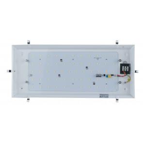I-KAPPA-BASE-LED/M - Base Led per Plafoniera Kappa 56x25,8 cm 28 watt Luce Naturale