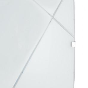 Plafonnier blanc moderne avec...