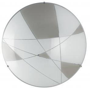 I-MAXIMA/PL40 - Plafoniera led tonda con decori geometrici 28 watt