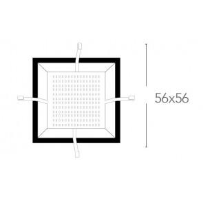 Base LED pour plafonnier Kappa 56x56...