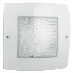 I-TRILOGY/PL40 - Plafoniera dalla forma semplice quadrata e con luci led 28 watt