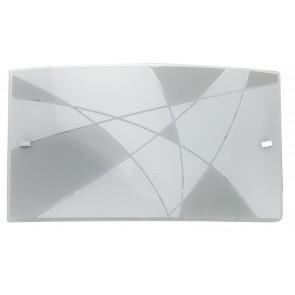 I-MAXIMA / AP3520 - Applique murale LED blanc et gris tourterelle 16 watts