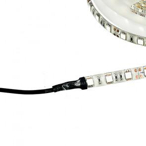 Bande LED avec silicone et jack 5 m...