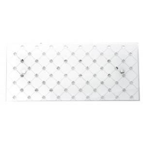 I-FLORIAN / AP4520 - Applique avec une forme carrée simple, élégante et raffinée avec des lumières LED 18 watts