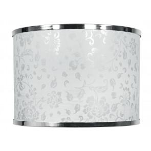 I-PRLMG-BOEME - Abat-jour Boeme Glitter Polyvinyl Chromed Edge 35x25 cm E27